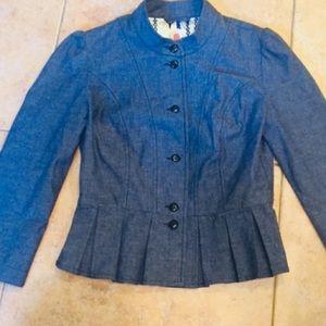 Tulle blue  jacket
